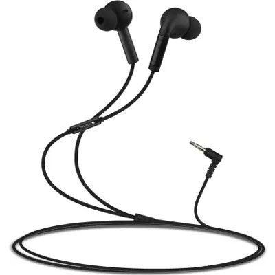 ZEBRONICS ZEB-EASE Wired Headset (Black, In the Ear)