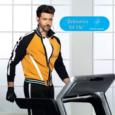 Zebronics ZEB_AIKA Plus Bluetooth Headset BLACK