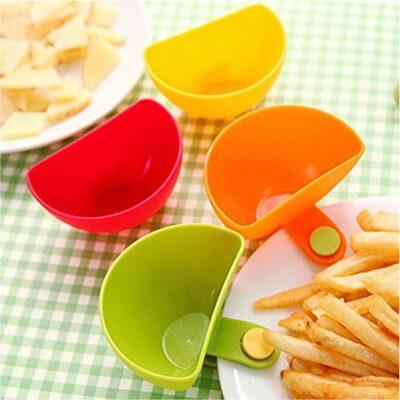 Solomon Premium Quality Sauce Bowl Multicolor Pack of 4