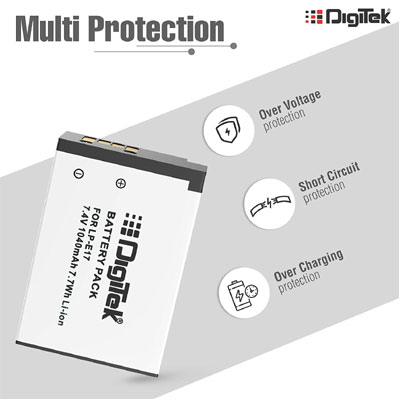 Digitek LPE17 Battery Pack for Canon