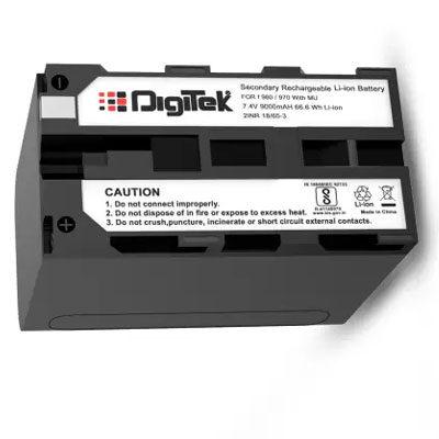 Digitek F960 970 Rechargeable Li-ion Battery sony Handycam Camcorder