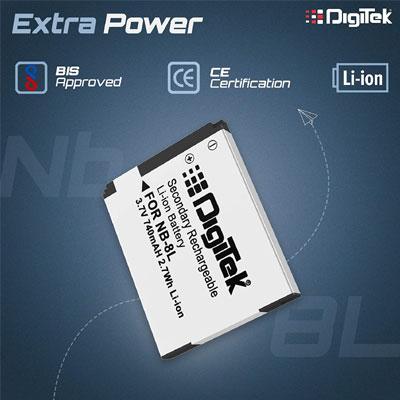 Digitek NB-8L Rechargeable Li-ion Battery for Canon
