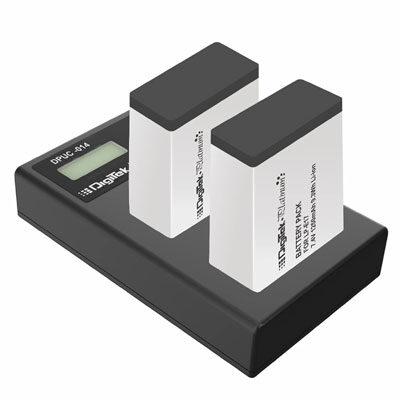 Digitek Platinum DPUC-014D Battery Charger with LP-E17 Li-ion Battery Combo Pack