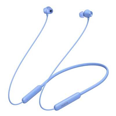 realme Buds Wireless 2 Neo (Blue) Earphones with Type-C Fast Charge