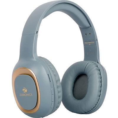ZEBRONICS ZEB-PARADISE Bluetooth Headset (Blue, True Wireless)