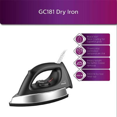 Philips GC181 Dry Iron
