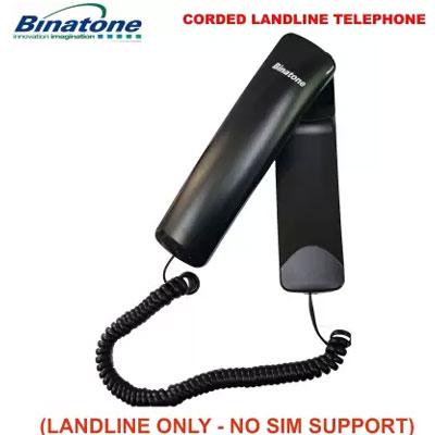 Binatone Trend 1N Corded Landline Phone (Black)